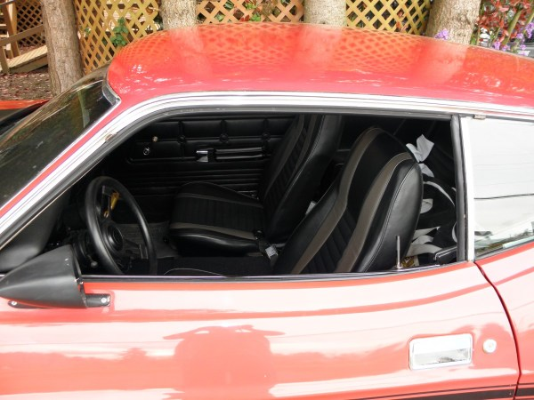 Red 1972 Mustang Mach 1 _14