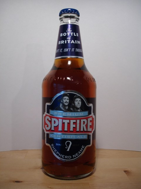 Spitfire Shepherd Neame Spitfire Bottle