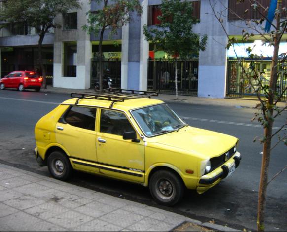 Subaru 600 side