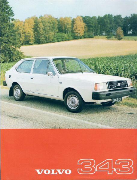 Volvo 343 ad