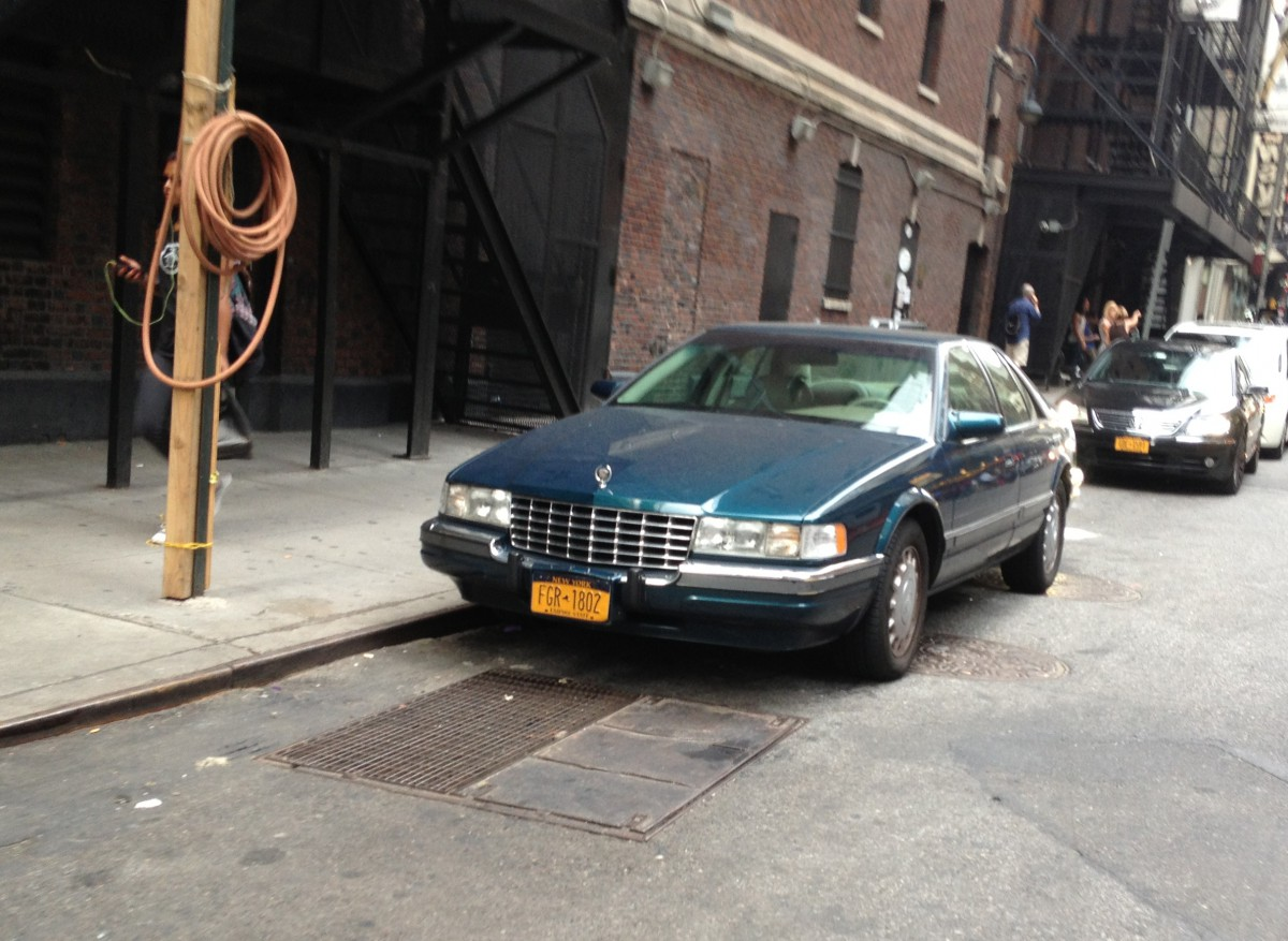 curbside classic 1992 97 cadillac seville a forgotten contender curbside classic 1992 97 cadillac seville