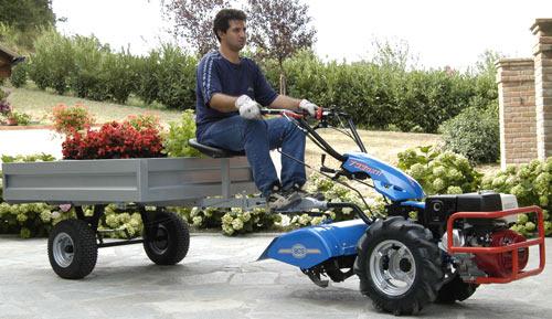 Bcs Garden Tractors : Gardenside classic bcs two wheel tractor my