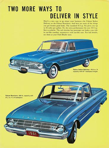 Ford Falcon 1961 sedan delivery