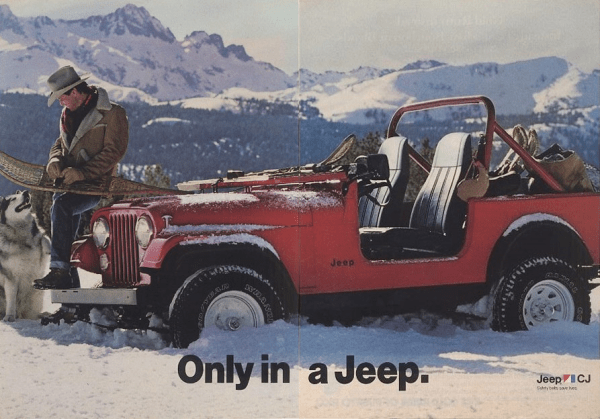 Jeep CJ7-top-down