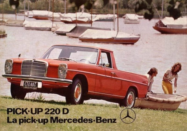 Mercedes W114 Pick-Up