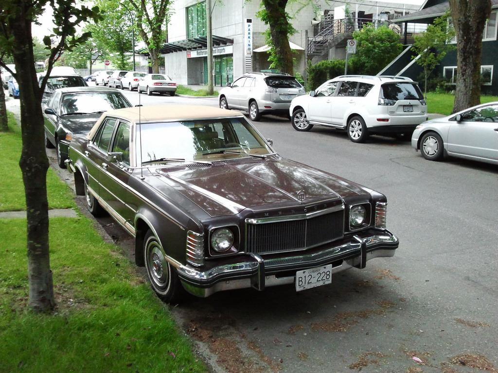Cohort Sighting 1977 Mercury Monarch Outlasting Its Namesake Curbside Classic