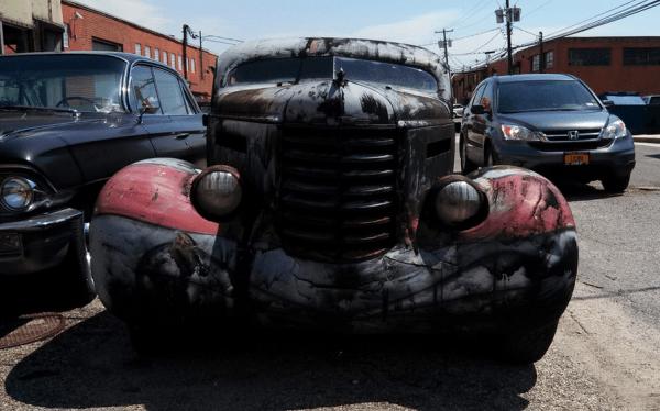 Oldsmobile 1937 hot rod f