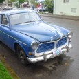 Iwas walking to the movies one rainy day, and came across this solid but well used Volvo 122S, known as the Amazon outside America. It proudly carries the Finnishflag colors, […]