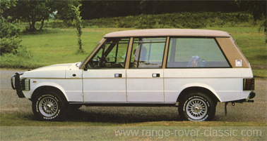 Range Rover Wood & Pickett Ascot Sheer Rover 1 W