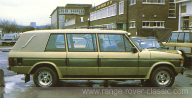 Range Rover Wood & Pickett Windsor Sheer Rover 1 W
