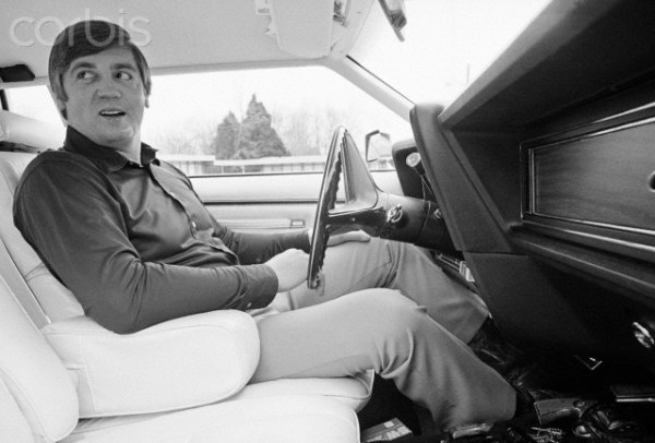 Buford Pusser in His Car