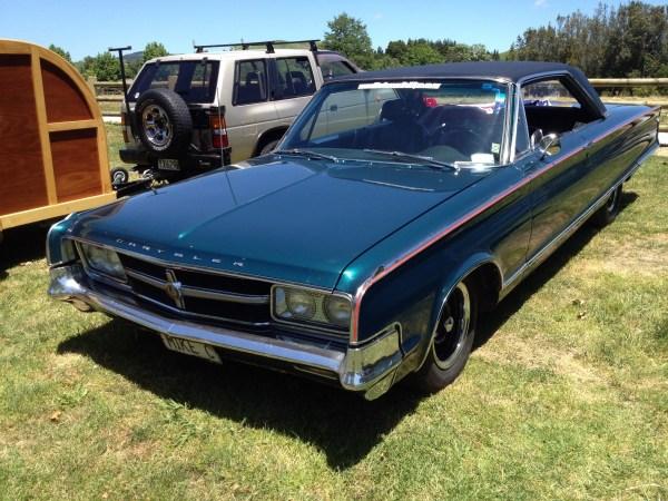 1965 CHRYSLER 300L hardtop blue fl