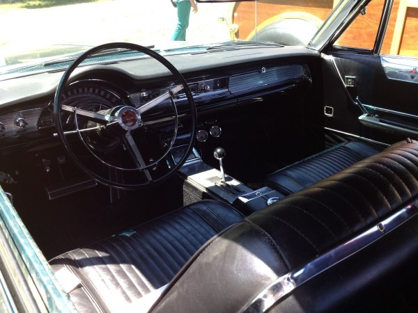 1965 CHRYSLER 300L hardtop blue interior