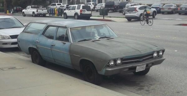 1969 Chevelle 3 quarter front