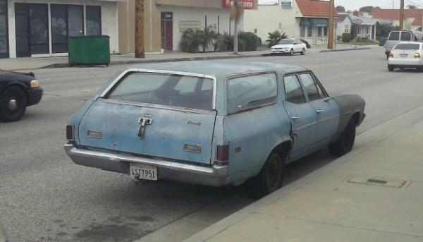 1969 Chevelle 3 quarter rear