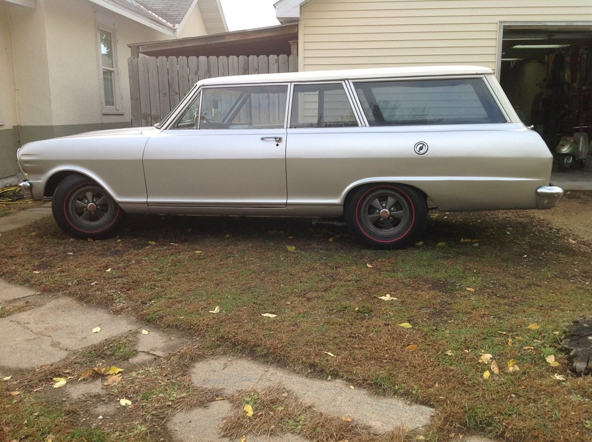 All Chevy 1964 chevy ii : 1965 Chevy II Two-Door Station Wagon: Factory COPO Original or ...