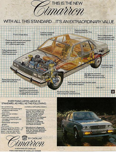 Cadillac Cimarron 2