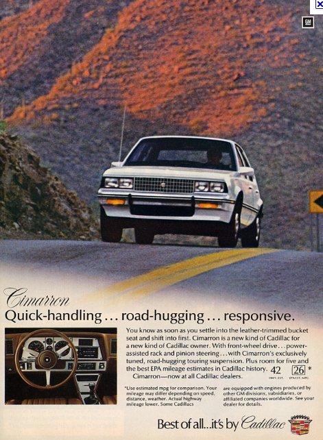 Cadillac Cimarron 3