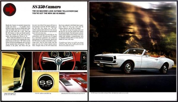 Camaro 1967 brochure 2