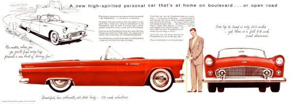 Ford Thunderbird 1955 -02-03