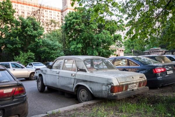 GAZ Volga gray