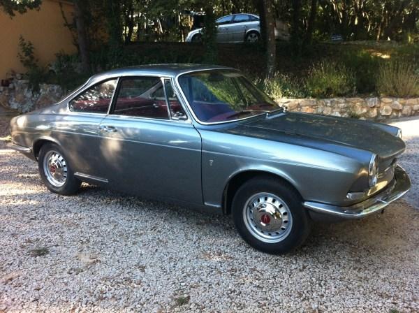 Simca coupe 1000 bertone - Simca 1000 coupe bertone a vendre ...