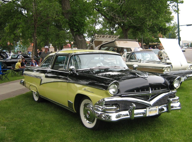 1956 Meteor Rideau Crown : ford cars in canada - markmcfarlin.com