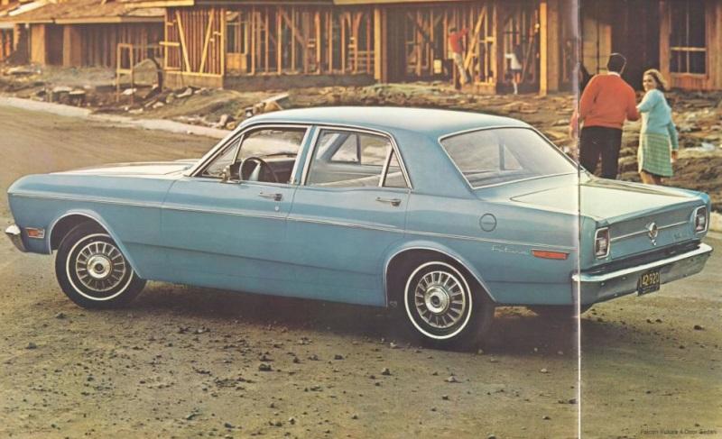 1968 ford falcon brochure. Black Bedroom Furniture Sets. Home Design Ideas