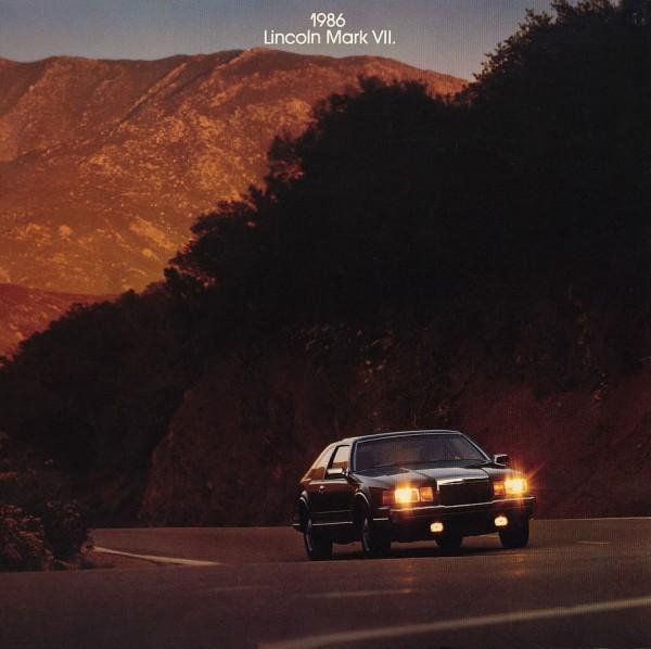 curbside classic 1986 lincoln mark vii aero luxury rh curbsideclassic com Lincoln Mark VII Lincoln Mark V