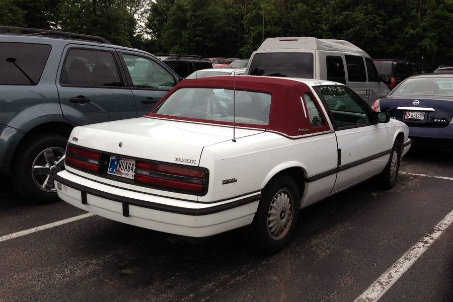 Cc Outtake 1991 Buick Regal Classic Edition By Bg Why It S Good That Buicks Are Just Rebaged Opels Now Curbside Classic