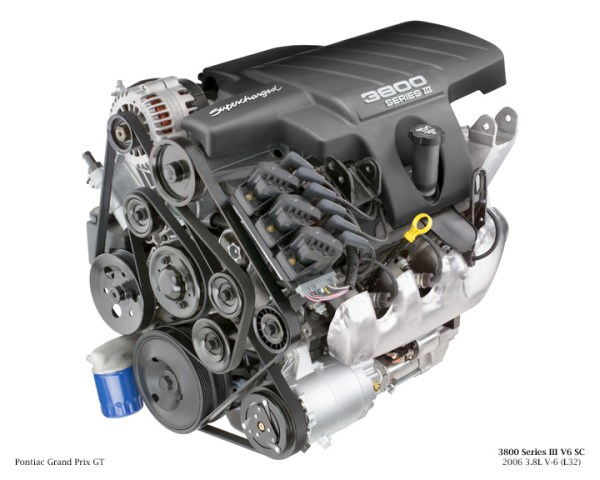 3800 Series III V6 SC 2006 3.8L V-6 (L32) for Pontiac Grand Prix GT