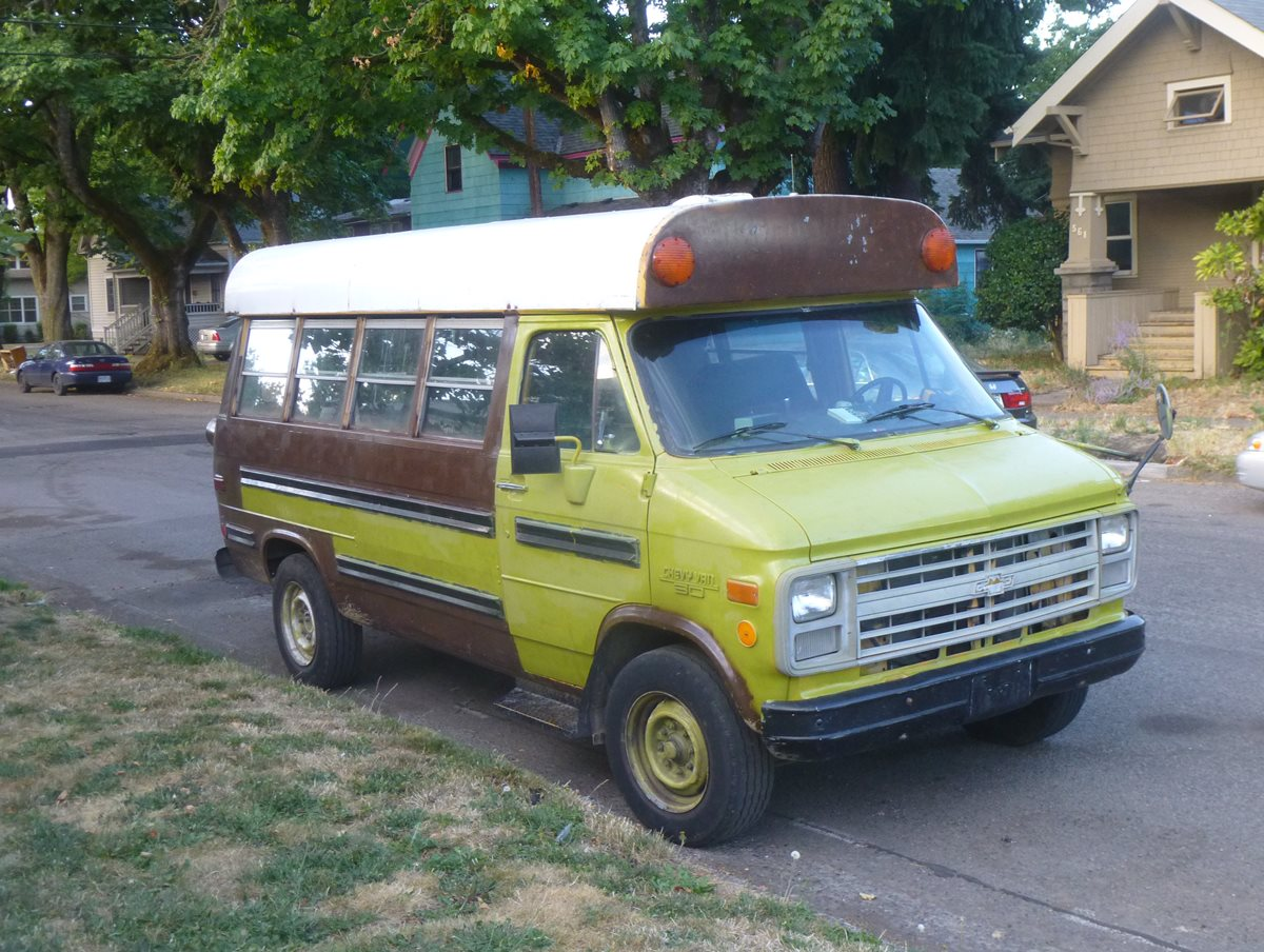 CC Outtake: Chevy Van Ex-School Bus – You Really Want To See This?
