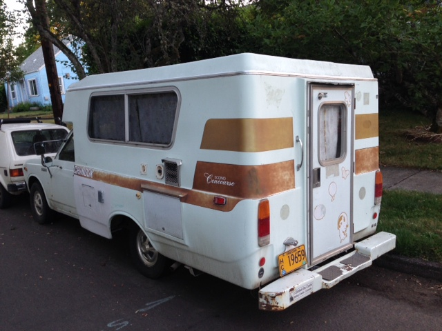 CC Capsule: Toyota Chinook Pop-Up Camper – Suddenly It's 1978