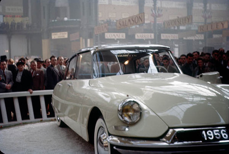 Citroen DS at Paris Motor Show 1955
