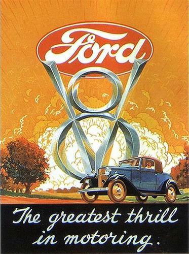 Ford 1932 ad  V8
