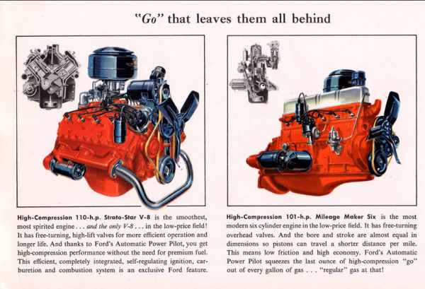 Ford 1953 engines
