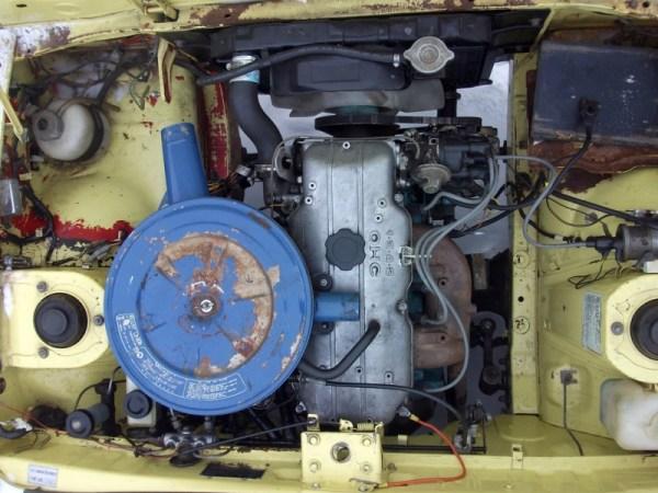 Mazda 808 engine