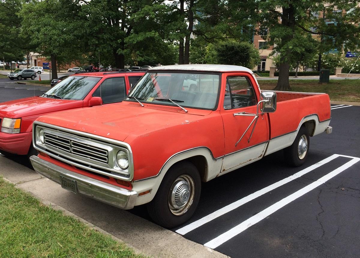CC Capsule: 1972 Dodge D200 – The Fuselage Pickup