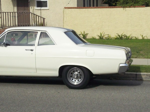 1967 Mercury Comet Rear closeup
