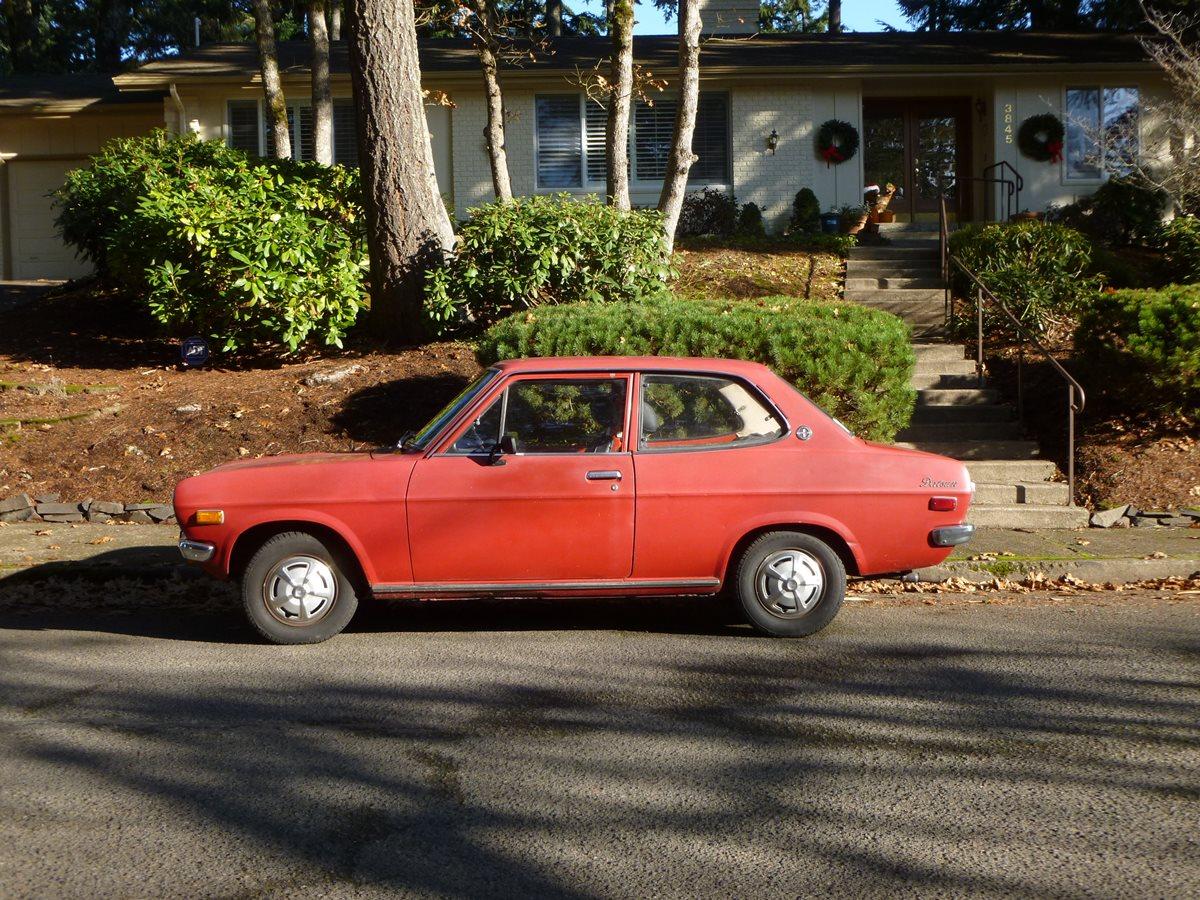 curbside classic 1972 datsun 1200 two door sedan size xs. Black Bedroom Furniture Sets. Home Design Ideas