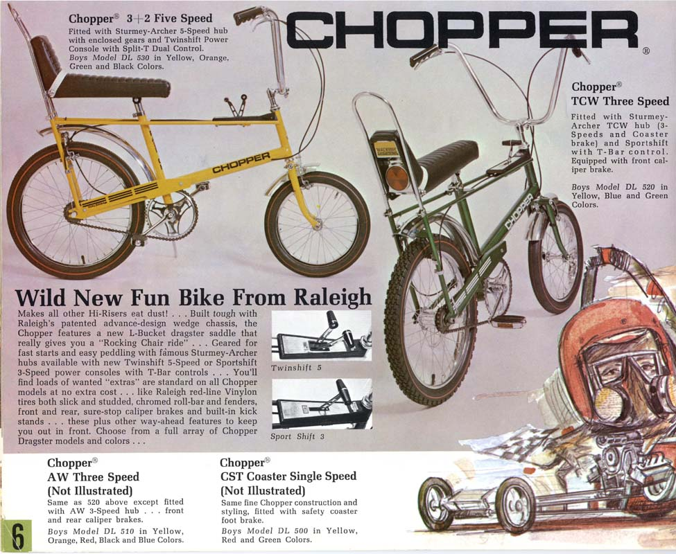 Curbside Classic: 1969 Raleigh Rodeo – My First New Set Of Wheels