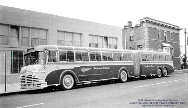Setra 1957 Academy express