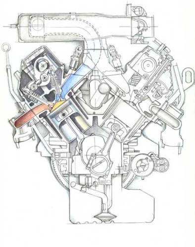 isuzu-engine-cross-section