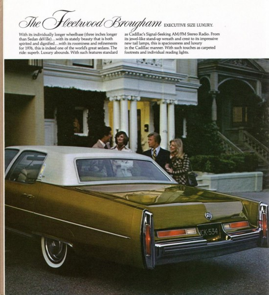 1976 Cadillac Full Line Prestige-05FleetwoodBrougham