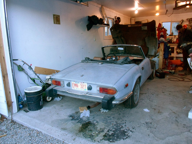 Coal 1978 Triumph Spitfire How To Almost Fix Up A Classic Car