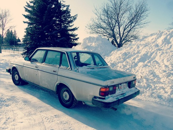 1984 Volvo 244 GLE rear