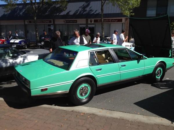 Aston Martin Lagonda green