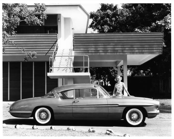Chevrolet 1956 Impala Motorama Experimental Car 03
