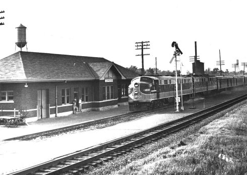 City of New Orleans train 1959