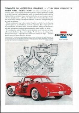 Corvette 1957 ad 2